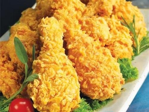 Bỏ túi cách làm món gà rán KFC ngon hấp dẫn với bếp chiên nhúng