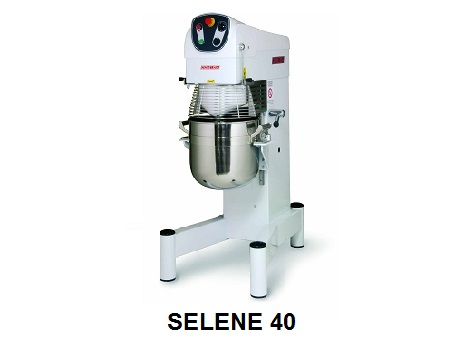Máy trộn bột 40 Lít Selene- Zanolli