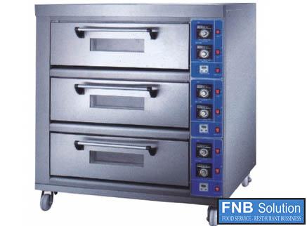Lò nướng bánh pizza 3 tầng BSP-E20KW-3N
