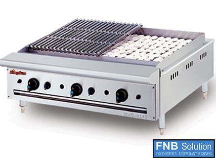 Lò nướng than nhân tạo đôi dùng điện