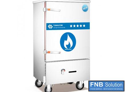 Tủ nấu cơm công nghiệp dùng cả gas và điệnTCGD-12