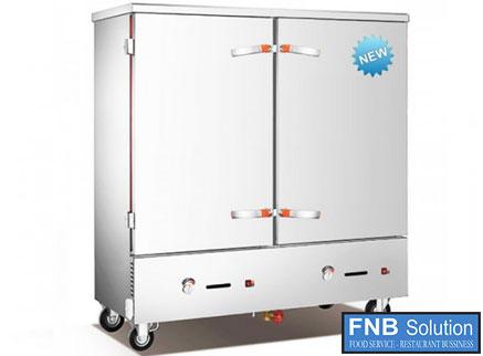Tủ nấu cơm công nghiệp 24 khay dùng gas TCG-24